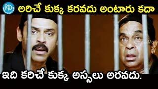అరిచే కుక్క కరవదు అంటారు కదా ఇది కరిచే కుక్క అస్సలు అరవదు.   Namo venkatesha Movie Scenes - IDREAMMOVIES