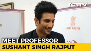 I May Just Start Teaching, Who Is To Tell: Sushant Singh Rajput - NDTV
