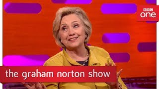 Hillary Clinton didn't want to attend Trump's Inauguration - The Graham Norton Show: 2017 - BBC One - BBC