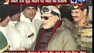 Prime Minister Narendra Modi spends Diwali in Siachen - ITVNEWSINDIA