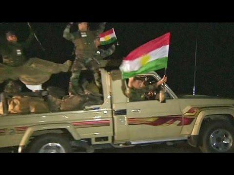 Iraqi Pershmerga arrive in Kobani to fight ISIL