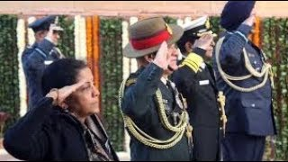 Nirmala Sitharaman pays tribute to 1971 war martyrs on Vijay Diwas - NEWSXLIVE