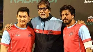 Star Sports Pro Kabaddi League│Shahrukh Khan, Aamir Khan, Amitabh Bachchan - THECINECURRY