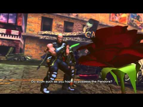 SFXT - Vega/Balrog Rival Battle Cutscene