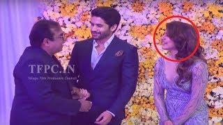 Comedian Brahmanandam Making Fun With Naga Chaitanya and Samantha @ ChaySam Wedding Reception | TFPC - TFPC