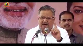 Raman Singh Attends Swachhta Hi Seva Abhiyan, Promises To Construct 10,000 Toilets In 10 Days - MANGONEWS