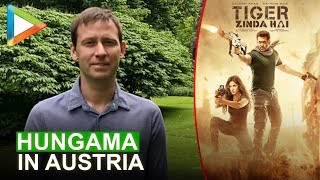 Salman Khan creates HUNGAMA in Innsbruck, Austria - HUNGAMA