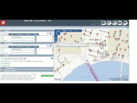 How to Ride JTA - Trip Planner tutorial
