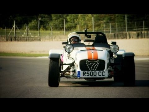 On the track at Donington - Top Gear - BBC