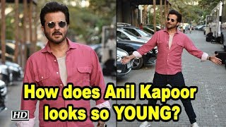 How does Anil Kapoor Looks so YOUNG? - IANSLIVE