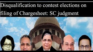 Supreme Court today on curbing criminalisation of politics, PIL to disqualify netas with chargesheet - NEWSXLIVE