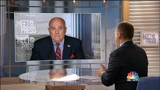 Full Giuliani: Cohen's 'Sole Mission' Was Trump Tower Moscow | Meet The Press | NBC News - NBCNEWS