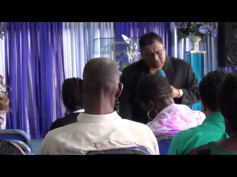 Pastor Kelvin Mohammed at ACC on 20th April 2014- The ressurection a present reality (Part 2 of 3)