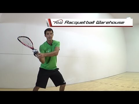 How to Hit a Racquetball Forehand