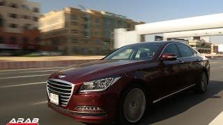 تجربة قيادة مفصلة للهيونداي جينيسيس مع عرب جي-تي