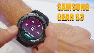 Обзор Samsung Gear S3 с IFA 2016