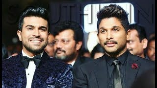 Allu Arjun Birthday  Birthday Celebrations With Ram Charan - RAJSHRITELUGU