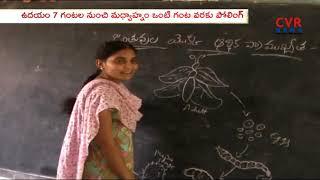 Telangana First Round Panchayat Election Campaign Ends | 21st Jan Schools Holiday | Rangareddy Dist| - CVRNEWSOFFICIAL