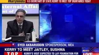 US Secretary of state Kerry to meet top dignitaries today - NEWSXLIVE