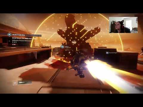 Girl Crushed by Cabal - Destiny 2: Warmind Gaming Fail