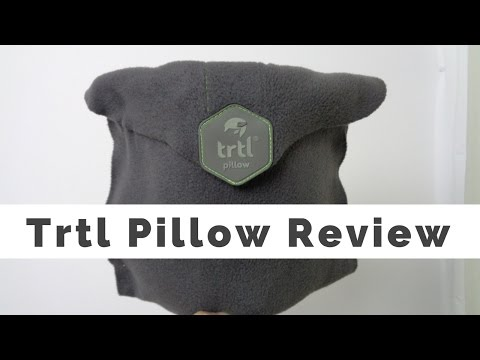 Trtl Pillow Review - Massage Monday #337