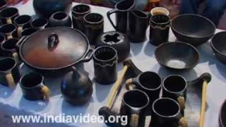 Dilli haat shopping centre Manipur Pottery