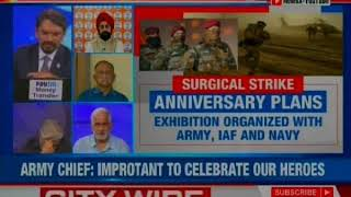 Army Chief Bipin Rawat on Surgical Strike Day controversy, says important to celebrate our heroes - NEWSXLIVE