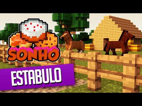 Minecraft : O Sonho! #80 - Casa dos Cavalos!