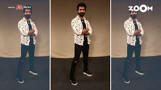 Shahid's cool look with black T-shirt and white printed shirt | Shahid's OOTD - ZOOMDEKHO
