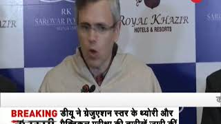 Morning Breaking: Conspiracy to attack Kashmiris, says Omar Abdullah - ZEENEWS