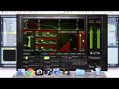 Mastering in Izotope Ozone 5: Part 1 (Mid-Side EQ and Multiband Dynamics)