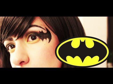 ➵ Maquillaje Para Halloween ✙ De BATMAN☜! - Miranda Ibañez