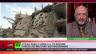 Syrian rebels urge US to resume cancelled military aid programme - RUSSIATODAY