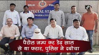 Video - दिल्ली : Parole Jump कर 1.5 साल से था फरार, Police ने दबोचा