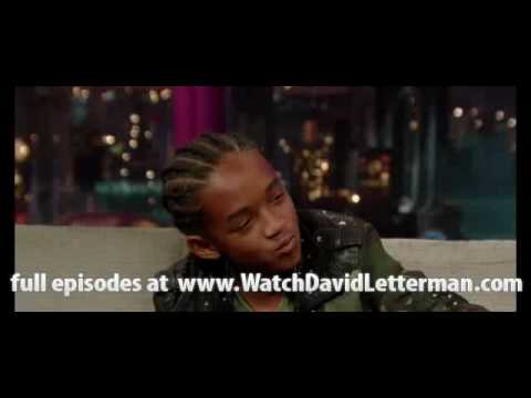 Jaden Smith in The Late Show with David Letterman 2010 06 10