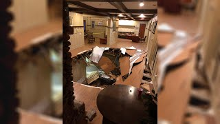 Dozens Injured When Floor Collapses At South Carolina Party | NBC Nightly News - NBCNEWS