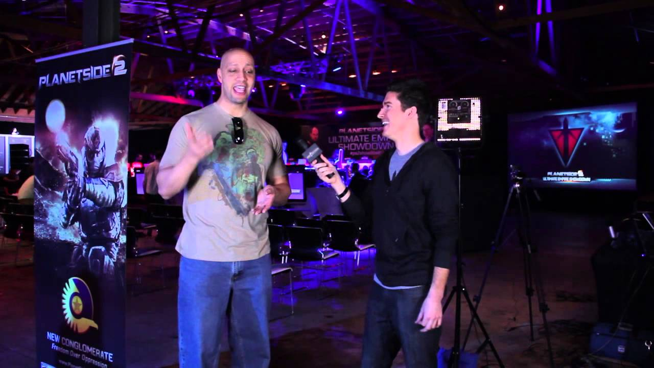 PlanetSide 2 Ultimate Empire Showdown - Jace Hall Pre-Game Interview
