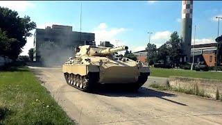 Tanque Argentino Mediano más sensores, más ágil y más seguro