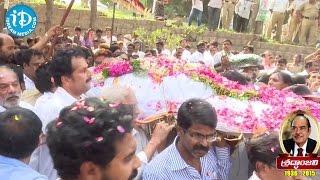 Movie Moghul Dr D. Ramanaidu Last Journey starts - IDREAMMOVIES