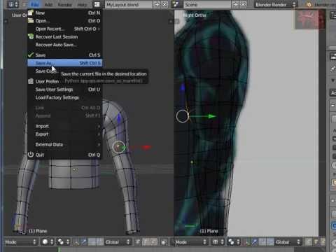 Blender Tutorial Character Modeling (3)