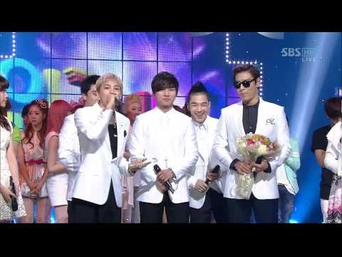 BIGBANG_0417 _SBS Popular Music _ LOVE SONG_1st Award