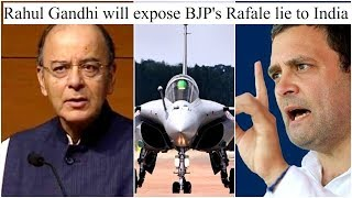 Security over politicking; Rahul Gandhi will expose BJP's Rafale lie to India, BJP hits back - NEWSXLIVE