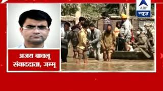 Heavy rain halts rescue ops in Srinagar - ABPNEWSTV