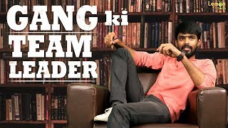 Gang Ki Team Leader Telugu Short Film | Lemon Soda - YOUTUBE