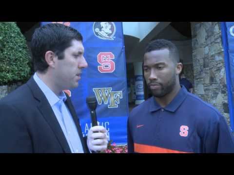 ACC Kickoff: Cameron Lynch Interview - Syracuse Football