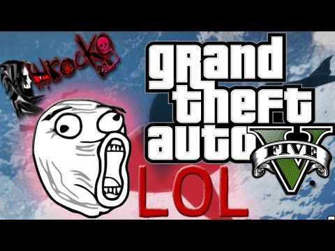 Gran Theft Auto V Caidas Fails Muertes Graciosas lol - Funny Moments GTA V XD ᴴᴰ