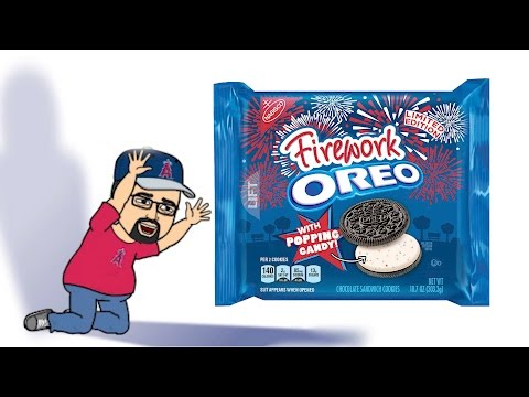 Fireworks Oreos BRAND NEW