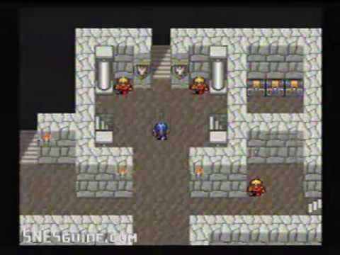 Final Fantasy II (4) - SNES Gameplay