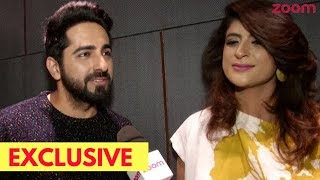 Ayushmann & Wife Tahira Reveal Why They Have Kept Their Children Away From Paparazzi - ZOOMDEKHO