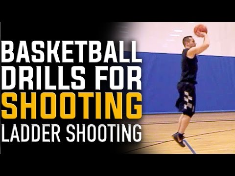 Best Basketball Drills for Shooting | Ladder Shooting Drill (INCREASE RANGE)